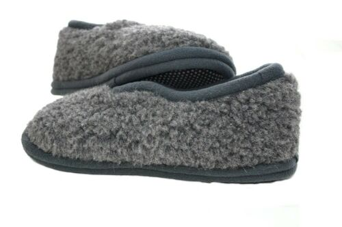 Woollen Slippers shoes boots Sheep Merino Wool Natural closed heel