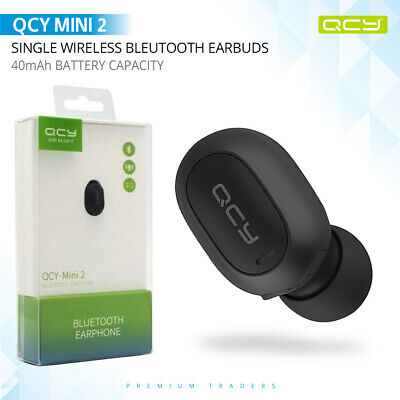 Mini Single Tws Wireless Bluetooth Earphones In Ear Earbud W Mic For Iphone Sam Ebay