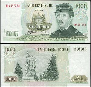 Chile 1000 Pesos. UNZ 2009 Banknote Kat# P.154ff