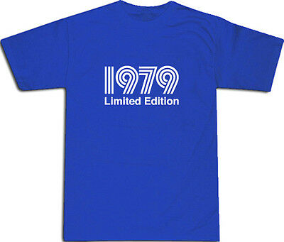 1979 Limited Edition Cool T-SHIRT S-XXL # Blue