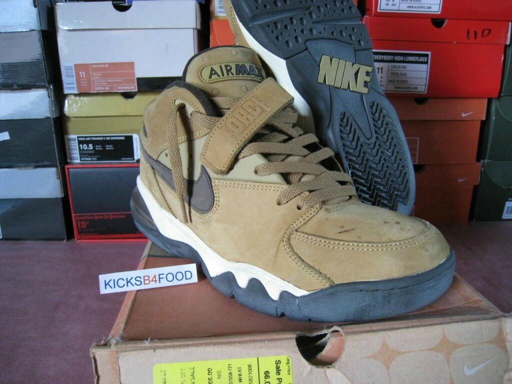 2003 Nike Air Force Max Leather  WP  11 WATERPROOF CB 34 Wheat VT PRM 1 Barkley