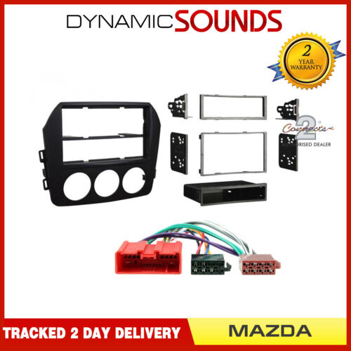 CT24MZ20 Single//Double Din Car Stereo Fascia Fitting Kit for Mazda MX-5 2009 On