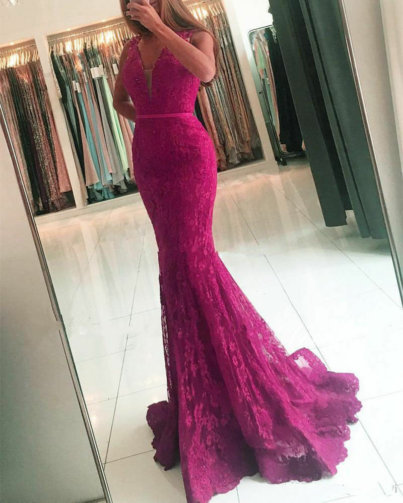 New Mermaid Bridesmaid Dresses Wedding Formal Party Prom Prom Prom Dress Evening Ball Gown 65a526