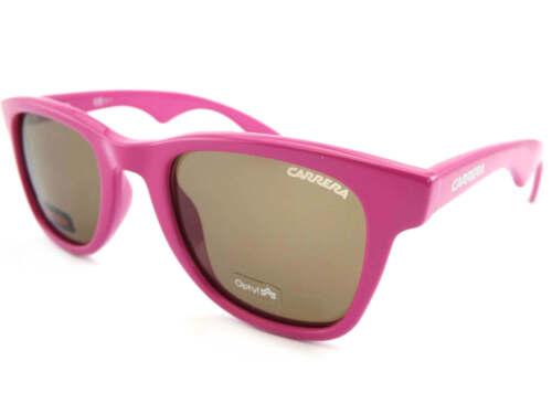 Dark Brown Lens 2R4-04 CARRERA 6000 Womens Sunglasses FUCHSIA PINK