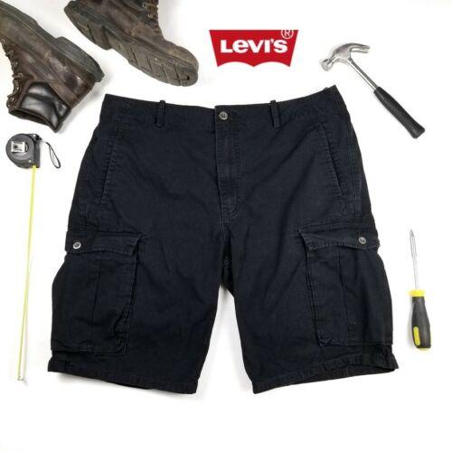 Levi's Men's Black Outdoor Utility Cargo Shorts 36