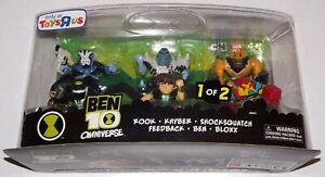 Ben-10-Omniverse-Super-Deformed-Figure-Set-6-Pack-4cm-High-BNIB-96641