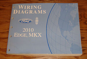 s l300 original 2010 ford edge lincoln mkx wiring diagrams manual 10 ebay wiring diagram for 2007 lincoln mkx at edmiracle.co