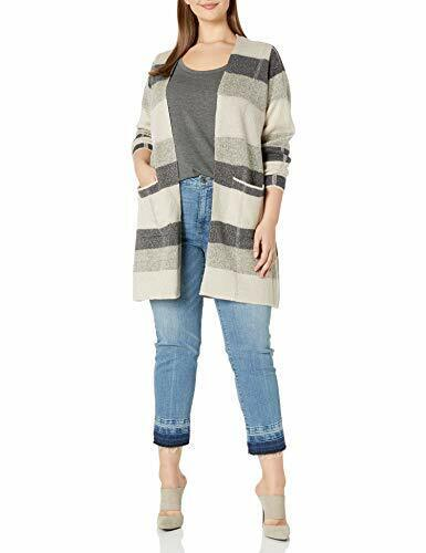 AGB Women/'s Plus Size Long Sleeve Cardigan Duster Choose SZ//color
