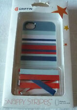 IPHONE 4/S GRIFFIN SNAPPY strisce Case (1st CLASSE P + P)