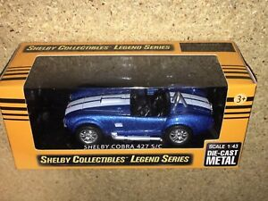 Carroll Shelby Collectibles Legend Series 1:43 1965 Shelby GT350 Die-Cast Cobra