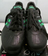 1990's Pantofola d'oro Olimpic Mens Soccer Shoes, Size 4 1/2, Black