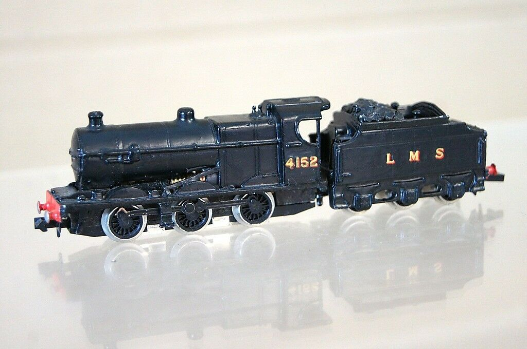 Graham Farish Set Gebaut Langley Lms 0-6-0-0 Fowler Klasse 4F Lokomotive 4152 Mz