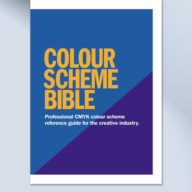 CMYK Colour Swatch Pantone Matching Book for Creative Graphic Design ...