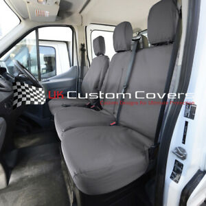 Tailored Van Quality Seat Covers 2+1 for FORD TRANSIT Mk8 2014-2020