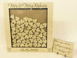 Personalised-wedding-guest-book-heart-drop-box-wooden-104-hearts-keepsake-gift