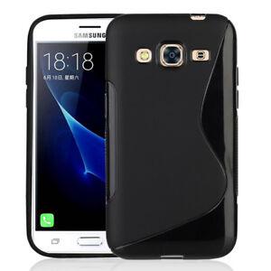 Funda-Protectora-para-Samsung-Galaxy-J3-pro-2016-J3110-TPU-Silicona-con-Tapa