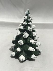 Foto Con La Neve Di Natale.Albero Di Natale In Resina Con La Neve Piccolo Gioielleria Ottaviani Roma Ebay