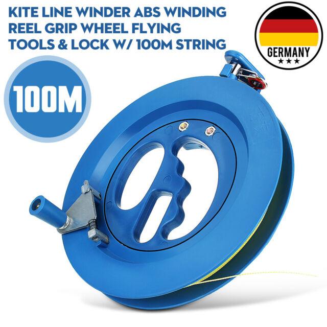 Leinenspule Storm Kite Einleiner Drachenspule Winder Haspel blau