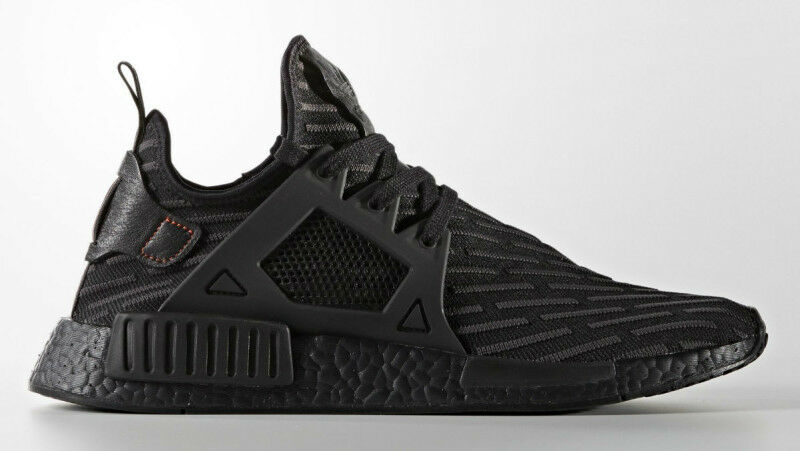 NEW DS Adidas NMD XR1 PK BOOST Triple All Core Black BA7214 Primeknit Black Core All Grey 2dc931