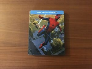 Spider-Man-Far-from-Home-Blu-Ray-3D-Steelbook-TBE