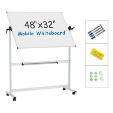 Viz Pro Mobile Whiteboard With Stand 48 X 32 Magnetic Dry Erase Board