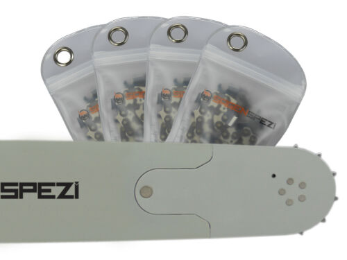 """4 Ketten passend für Husqvarna 576 XP 60 cm 3//8/"""" 84TG 1,5mm Sägekette Schwert"""