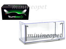 ACRYLICASE 14002 CLEAR DISPLAY SHOW CASE FOR 1/18 SILVER BASE with LED LIGHTS