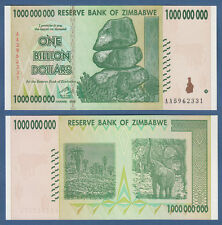 SIMBABWE / ZIMBABWE 1 Billion Dollars 2008  UNC P.83