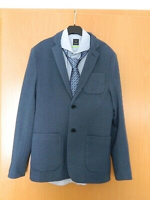 Bescheiden Sakko / Hemd / Krawatte - 3 Tlg. Kombi ( 1 X Getragen )