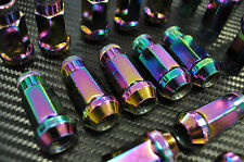 1320 Titanium  NEO Chrome STEEL JDM LUG NUTS 12x1.5 civic crx eg ek dc2