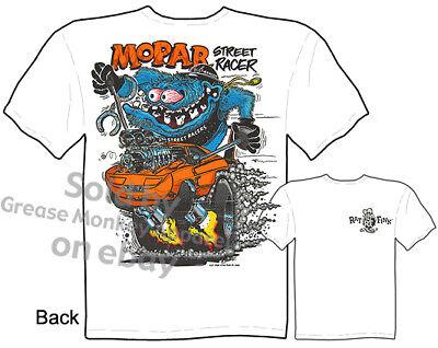 Mopar Clothing Ed Roth Rat Fink Tee Dodge T Shirt Big Daddy Shirt Hemi T Shirts