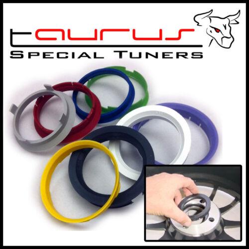 Kit 4 anelli di centraggio 72,5-60,1mm da 72,5 a 60,1 mm cerchi ruote universali
