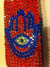 NEW iPhone 5/5s Case/Cover Red/Blue Hamsa Hand(Jennifer Aniston,Madonna,Rihanna)