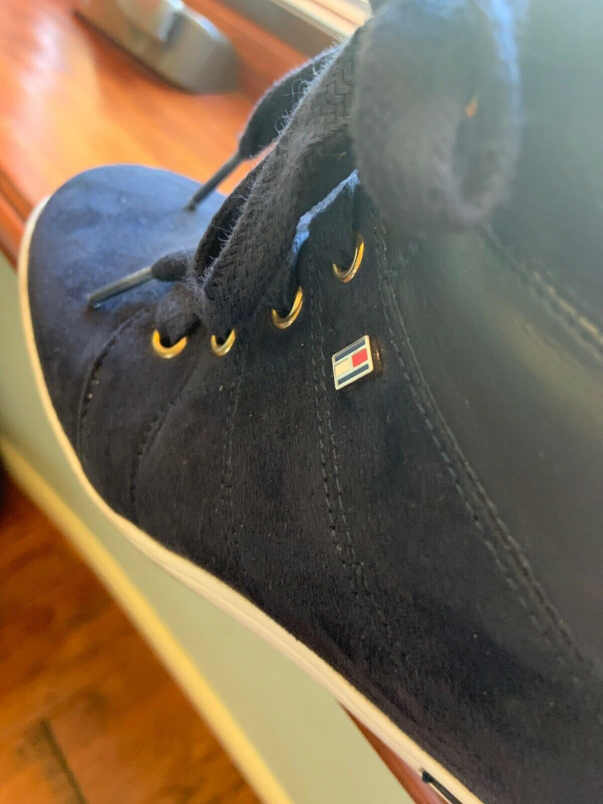 Tommy Hilfiger Boot Wedges - image 6
