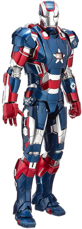Movie Masterpiece Iron Patriot Limited Edition Edition Edition DIECAST Iron Man 3 1 6 Scale 2ec216