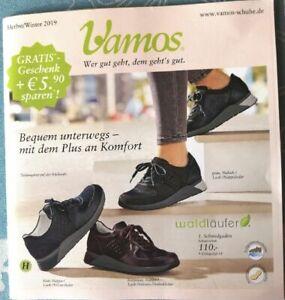 Details zu KATALOG VAMOS, Schuh Journal, HerbstWinter. 2019, quasi neu!