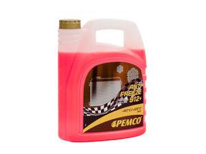 Anticongelante-Mezcla-Preparada-Rojo-Liquido-refrigerante-Hasta-40-5L