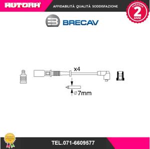06572 Kit cavi accensione Fiat-Lancia MARCA-BRECAV