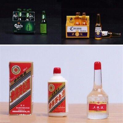 1//6 Scale Scene Accessories Coranu Carlsberg  Bottled Beers Set 2 styles