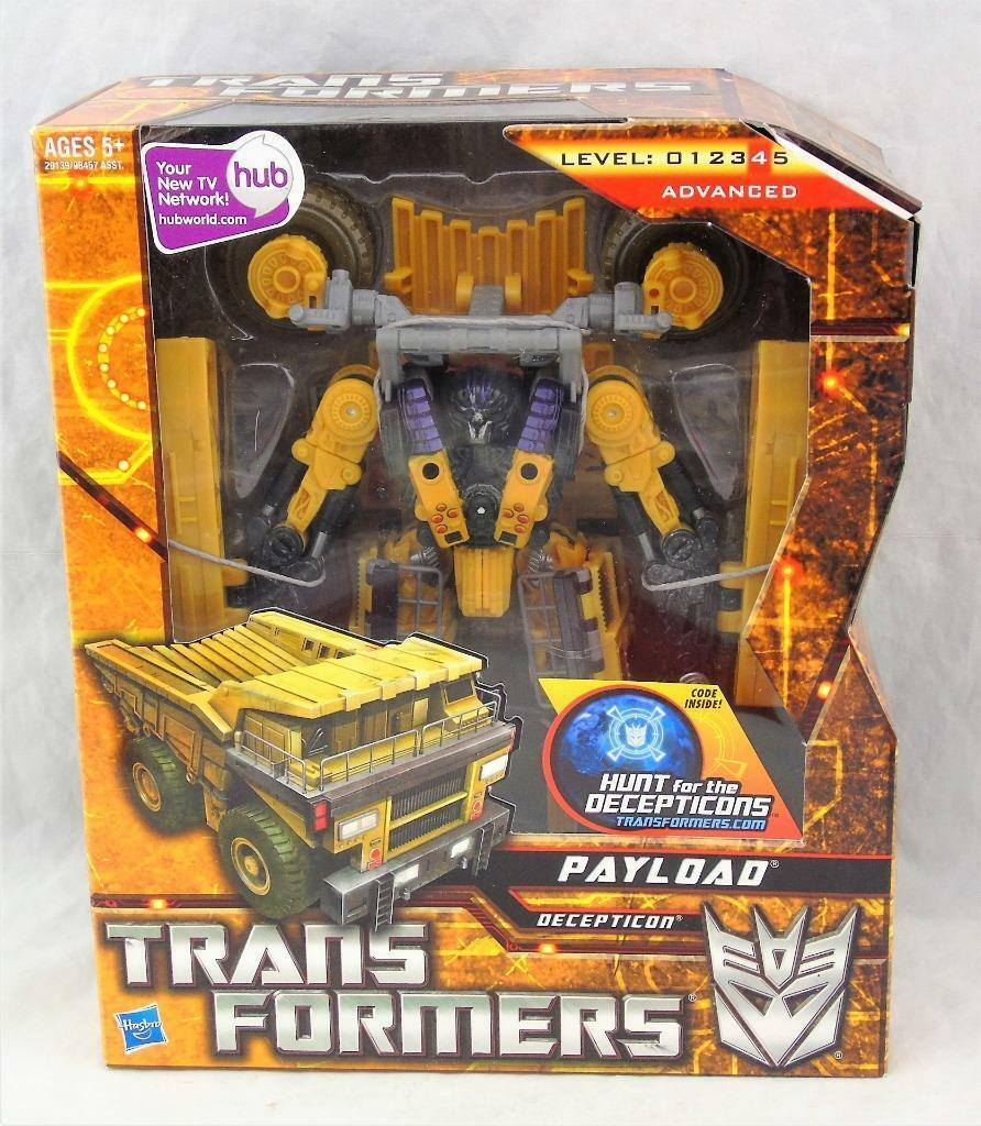 Transformers jagar Decepticons HFTD Voyagers Payload MISSB