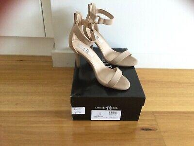 Rebel Toe Ring Heels (Nude) - Milliot & Co