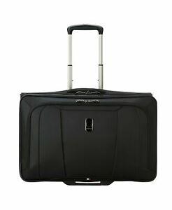 360-Delsey-Helium-360-Rolling-Wheels-Carry-On-Garment-Bag-Suiter-Black