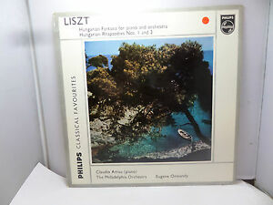 LISZT HUNGARIAN FANTASIA FOR PIANO AND ORCHESTRA PHILIPS GBL5583  VINYL LP - Northwich, United Kingdom - LISZT HUNGARIAN FANTASIA FOR PIANO AND ORCHESTRA PHILIPS GBL5583  VINYL LP - Northwich, United Kingdom