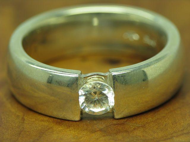 925 STERLING silver RING MIT ZIRKONIA BESATZ   ECHTsilver   10,7g   RG 59