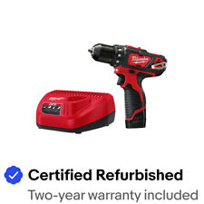 Milwaukee M12 3/8 in. Drill Driver Kit (1.5 Ah) 2407-81 Certified Refurbished