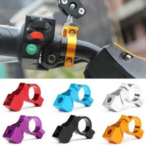 10mm Motorcycle Bike Alloy Handle Bar Mirror Mount Holder Clamp Adaptor