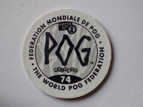 Pog série 1 n° 74 officiel World pog federation Pogs vintage collection animage
