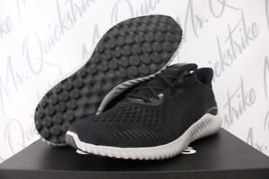 ADIDAS ALPHABOUNCE EM SZ 12 RUNNING SHOES UTILITY CORE BLACK WHITE ... e92be2782