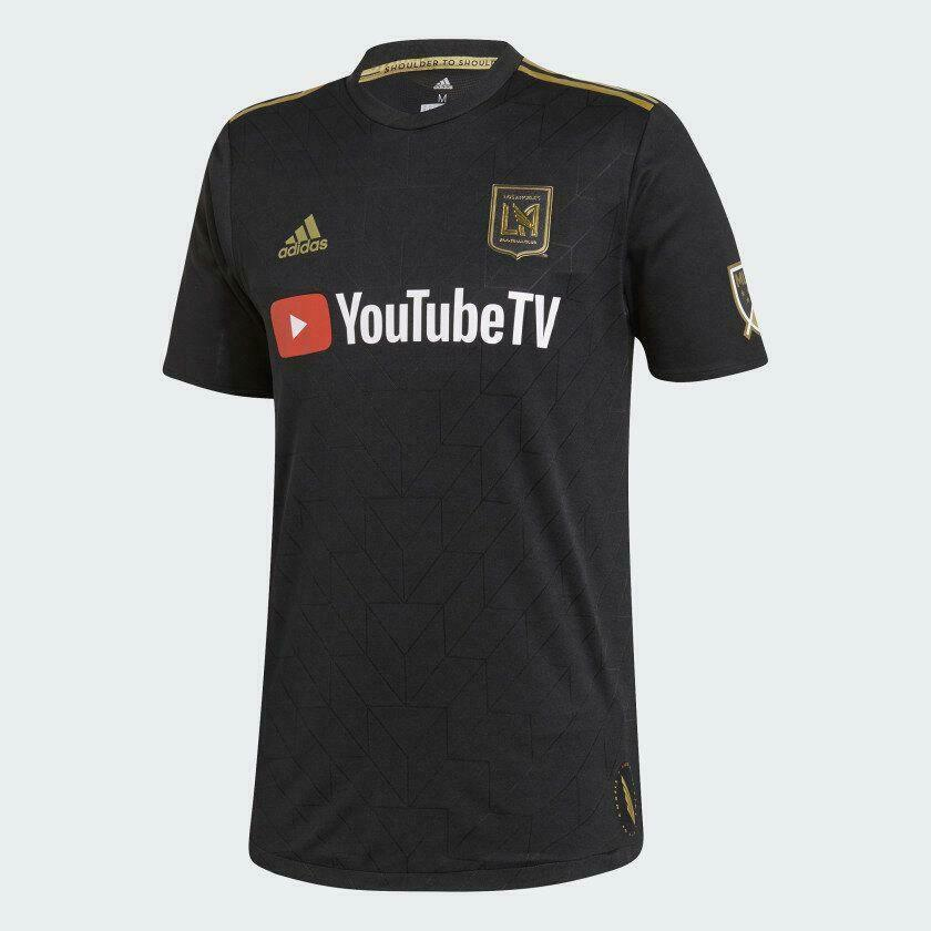 DY0311 adidas LAFC 2019 mannen's Home Authentic Jersey