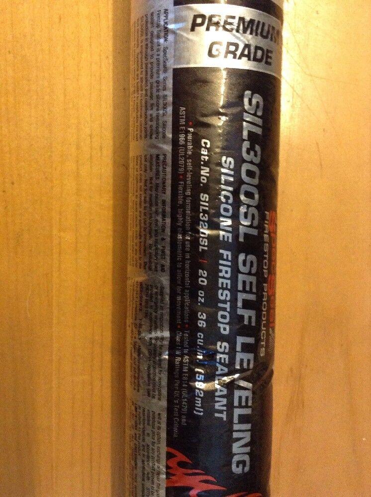 SpecSeal Premium Grade Silicone Firestop Sealant SIL300SL self Leveling 20Oz